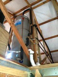 plumbing a new hot water cylinder